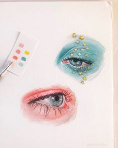 small oil paintings (painted these not in my moleskine but on actual oil paper for a change lol) hope you like them? Aesthetic Painting, Aesthetic Art, Arte Sketchbook, Fashion Sketchbook, Watercolor Paintings, Oil Paintings, Small Paintings, Watercolor Sketch, Watercolor Techniques