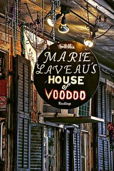 Marie Laveaus House of Voodoo - New Orleans, La...I might have to mess with some voodoo @Victoria Brown Brown Seemiller