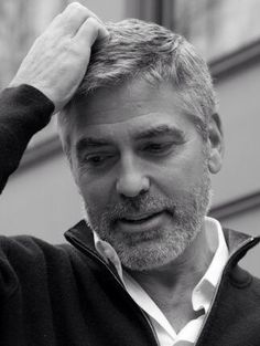 George Clooney- Okay so maybe he is old enough to be my grandfather, but this man is incredibly handsome!