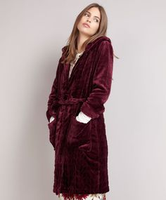 Structured dressing gown - OYSHO