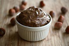 Raw chocolate hazelnut cream