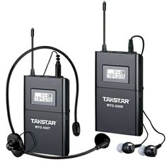 Aliexpress.com : Buy Top Quality Takstar WTG 500 UHF PLL Wireless tour guide system voice device teaching earphones Transmitter+Receiver+MIC+earphone from Reliable mic earphone suppliers on shenzhen amy store $99.95