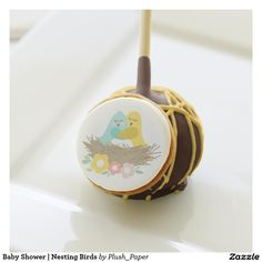 Baby Shower | Nesting Birds Cake Pops
