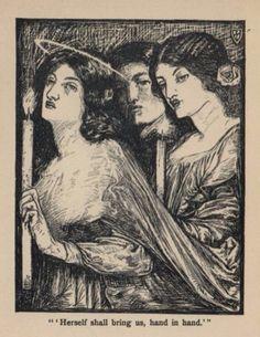 "From ""The Blessed Damozel"" - Dante Gabriel Rossetti"