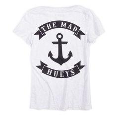 Womens Anchor T-Shirt – The Mad Hueys USA