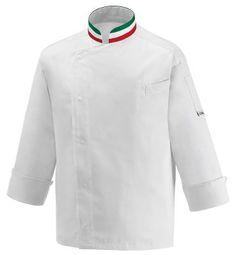 CHAQUETA COCINERO ITALIA EGOCHEF  Mod. 106007 60% Cotton - 40% Polyester