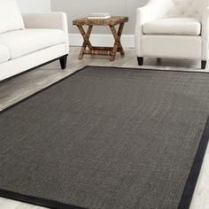 Handcrafted Shadows Sisal 8' x 10' Rug - Black - 17426202 - Overstock.com Shopping - Great Deals on 7x9 - 10x14 Rugs
