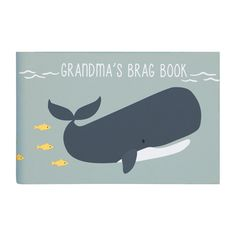 Grandma's Brag Book - Under the Sea - Baby Photo Albums - Baby Gifts & Memory Books Brag Book, Picture Albums, Baby Memories, Blue Whale, Album Book, Memory Books, Precious Moments, Under The Sea, Baby Gifts