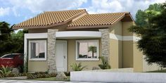 Fachadas para Casas menores e simples