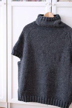 Ravelry: Form and Shape pattern by Suvi Simola Crochet Hooks, Knit Crochet, Quick Knits, Bind Off, Knit Vest, Stockinette, Couture, Shape Patterns, Wool Yarn