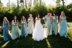 Lex's Coastal Chic Blue Wedding