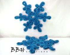 Handcrafted Snowflake Ornament / Winter / Holiday by BBHCreations, $13.95