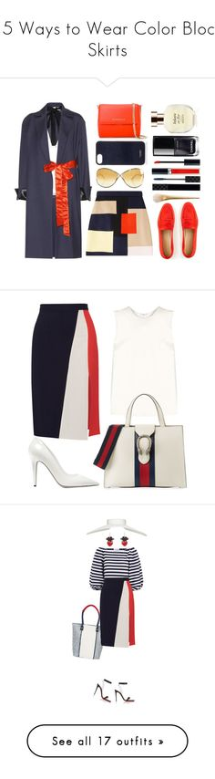 """""""15 Ways to Wear Color Block Skirts"""" by polyvore-editorial ❤ liked on Polyvore featuring waystowear, colorblockskirts, Marni, MSGM, Givenchy, J.Crew, Vianel, Christian Dior, Arquiste Parfumeur and Chanel"""