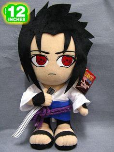 Naruto Sasuke Plush Doll NAPL2010 >>> I want one...