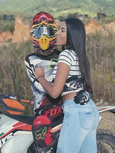 Motocross Couple, Motocross Love, Anniversary Boyfriend, Marriage Anniversary, Anniversary Ideas, Scooter Motorcycle, Motorcycle Style, Cute Couples Goals, Couple Goals