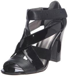 Zapatos de mujer. Calvin Klein Ashley Kid Nappa Soft Patent - Sandalias de  Cuero aa7a8fa4b14f