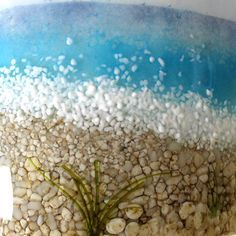 fused glass ideas with glass marbles - Google Search