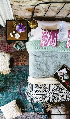 Boho Chic: Bedding