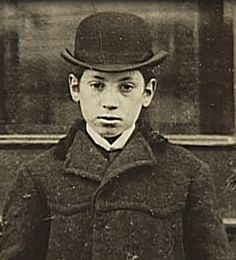 Harpo Marx as a child