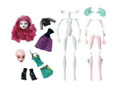 Now Kids Can Build Their Own Monster High Doll - Monster High Create-a-Monster Werewolf & Dragon by Mattel. $44.75. Kids will enjoy creating their own monsters again and again. The pieces can be assembled in more than 250 ways. Kit includes a torso, 2 sets of limbs, 2 heads, 1 hairpiece, 2 fashions and a unique add-on accessory. Now kids can build their own Monster High doll. All the body parts and fashions needed to create your own unique scary cool ghoul. Monst...