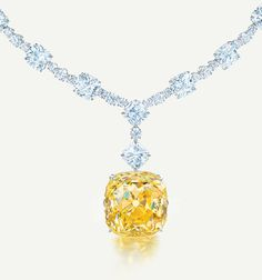 "Dear Santa....I've been good and I'm asking way in advance. "")The one and only Tiffany Diamond, 128.54 priceless carats"