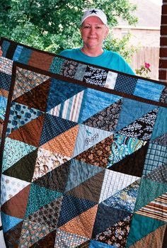 Ovarian Cancer Quilt for Peggy. Teal for Ovarian Cancer.  Miss and love you Peggy