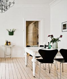 Swedish apartment Living Interiors13