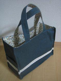 ボックス型トートバッグの作り方 手順|13|バッグ|ファッション小物|ハンドメイドカテゴリ|ハンドメイド、手作り作品の作り方ならアトリエ