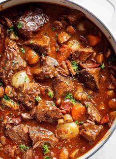 comment préparer la recette bœuf bourguignon classique