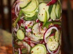 Summer Vinegar Salad Recipe