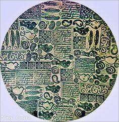 PRATO PASSARINHOS - Verde | Prato feito por mim, pintado por… | Flickr