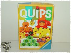 Quips Ravensburger - Farbwürfelspiel - 70er Spiel. Von vintageschippie bei DaWanda.