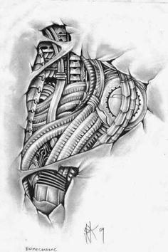 Plantillas y Diseños de Tatuajes Mundo Piercing Quibdo: Biomechanics Design