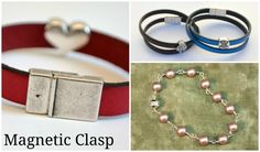 Did you know that some types of jewelry clasps are more suited for certain projects? Pair your projects with the perfect clasp with the help of this handy info!