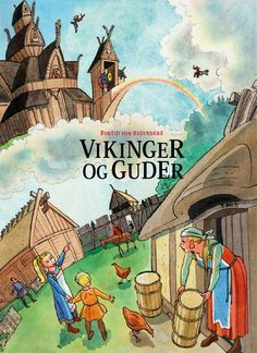 Vikinger og guder / for 3-6 årige børn Gratis undervisningsmateriale om vikinger og nordiake guder for børnehaver og 0. klasser.…