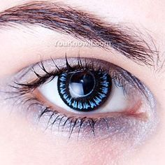 Blue Wolf Wild Eyes Contact Lenses