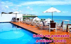 Hospedagem em promoção na praia #praias #hotéis #promoções #viagem