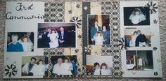 First Communion - Scrapbook.com