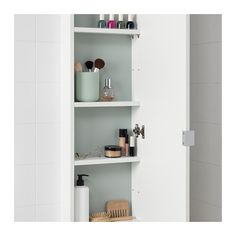 IKEA - LILLÅNGEN, Wall cabinet with 1 door, white, The shallow sink cabinet is perfect where space is limited. Mirror Cabinets, Bathroom Cabinets, Bathroom Furniture, Home Furniture, Antique Furniture, Shallow Cabinets, Medicine Cabinets, Bathroom Vanities, Rustic Furniture