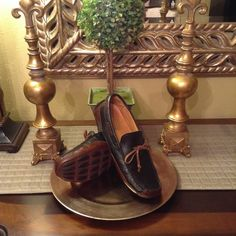 """Authentic Sperry Top - Sider """"Gold Cup"""" Authentic Sperry Top - Sider Gold Cup Mens Driver Shoes, Excellent Condition, 8 1/2, Genuine Leather Sperry Top-Sider Shoes"""