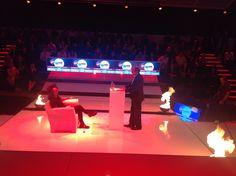 Krönender Abschluss für eine spannende und heisse #dmexco2014: #Digital Prophet Shingy auf dem Hot Chair in der Debate Hall #twtdmexco