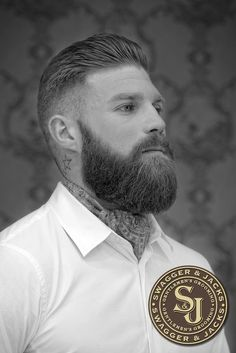 Swagger and Jacks Gentlemens Grooming Collections, swagger and jacks, mens hair norwich. Where I go for a trim up Great Beards, Awesome Beards, Moustaches, Beard Cuts, Beard Haircut, Der Gentleman, Beard Game, Perfect Beard, Sexy Beard
