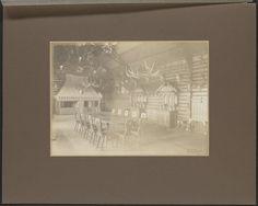Interieur van het jachthuis Rominten, 1913