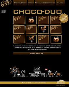 New FB Game for Cailler – CHOCO-DUO.