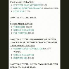 Who would like to try the 3 Month Program?!✋  ✔ Cleanse  ✔ Lose ✔Tighten ✔Results!!!!  Loyal Customer pricing!!!  Get ahold of me if you'd like to try it or have any questions!