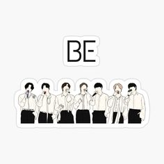 Pop Stickers, Kawaii Stickers, Anime Stickers, Printable Stickers, Mochila Do Bts, Bts Book, Bts Drawings, Bts Chibi, Journal Stickers