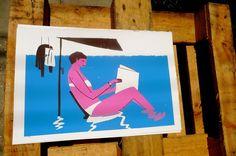 Woman reading | Planeta Tangerina
