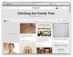 My Family Historian: Pinning Genealogy
