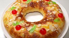 ロスコン デ レジェス(王様のケーキ):スペイン料理簡単レシピ集