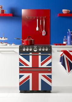 Union Jack kitchen